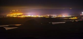 Πόλη της σελίδας Αριζόνα τη νύχτα Στοκ εικόνες με δικαίωμα ελεύθερης χρήσης