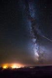 Πόλη της σελίδας Αριζόνα τη νύχτα Στοκ Εικόνες
