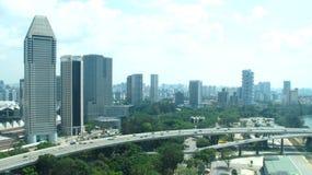 Πόλη της Σιγκαπούρης Στοκ Εικόνα