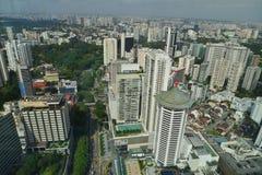 Πόλη της Σιγκαπούρης Στοκ Φωτογραφία