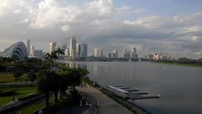 Πόλη της Σιγκαπούρης scape Στοκ εικόνα με δικαίωμα ελεύθερης χρήσης