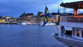 Πόλη της Στοκχόλμης απόθεμα βίντεο