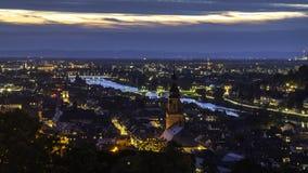 Πόλη της Χαϋδελβέργης στοκ φωτογραφία