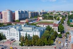 Πόλη της Samara, οδός στοκ φωτογραφία με δικαίωμα ελεύθερης χρήσης