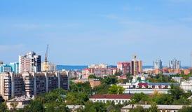 Πόλη της Samara, οδός στοκ εικόνα με δικαίωμα ελεύθερης χρήσης