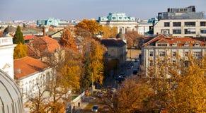 Πόλη της Sofia Στοκ Εικόνες