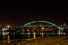 Πόλη τη νύχτα Στοκ εικόνες με δικαίωμα ελεύθερης χρήσης