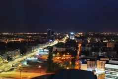 Πόλη τη νύχτα Στοκ Εικόνα