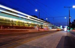 Πόλη τη νύχτα Στοκ Φωτογραφία