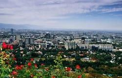 Πόλη του Αλμάτι στοκ εικόνα με δικαίωμα ελεύθερης χρήσης