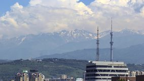 Πόλη του Αλμάτι απόθεμα βίντεο