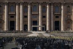 Πόλη του Βατικανού βασιλικών του ST Peter Στοκ Φωτογραφία