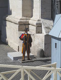 19 06 2017, πόλη του Βατικανού, Ρώμη, Ιταλία: Επισκοπική ελβετική φρουρά Στοκ Εικόνα