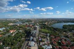 Πόλη του Βουκουρεστι'ου Στοκ Φωτογραφία
