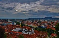 Πόλη του Γκραζ Στοκ Εικόνα