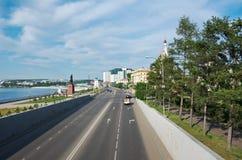 Πόλη του Ιρκούτσκ Στοκ Εικόνες