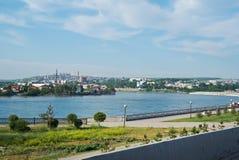 Πόλη του Ιρκούτσκ Στοκ Φωτογραφίες