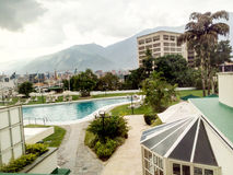 Πόλη του Καράκας με μια άποψη του Avila βουνού Στοκ Φωτογραφίες