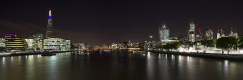 Πόλη του Λονδίνου πανοραμική Στοκ Φωτογραφία