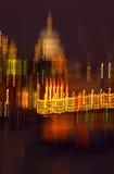 Πόλη του Λονδίνου Impressionism Στοκ φωτογραφία με δικαίωμα ελεύθερης χρήσης