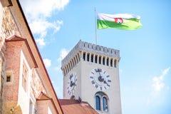 Πόλη του Λουμπλιάνα στη Σλοβενία Στοκ φωτογραφία με δικαίωμα ελεύθερης χρήσης
