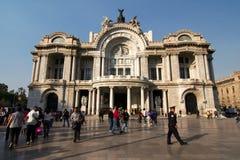 Πόλη του Μεξικού, Μεξικό - 2011: Palacio de Bellas Artes (παλάτι των Καλών Τεχνών) Στοκ Φωτογραφία