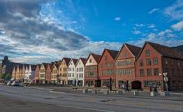 πόλη του Μπέργκεν Στοκ Φωτογραφία