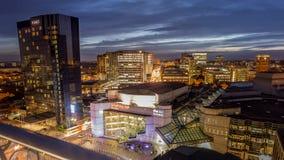 Πόλη του Μπέρμιγχαμ Στοκ εικόνα με δικαίωμα ελεύθερης χρήσης