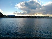 Πόλη του νησιού Ελλάδα της Κέρκυρας Στοκ Εικόνες