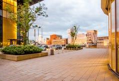Πόλη του Ντίσελντορφ στη Γερμανία Στοκ φωτογραφία με δικαίωμα ελεύθερης χρήσης