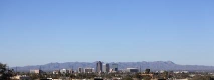 Πόλη του πανοράματος του Tucson, AZ Στοκ εικόνα με δικαίωμα ελεύθερης χρήσης