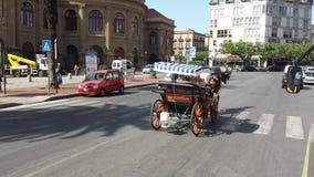 Πόλη του Παλέρμου, Σικελία, Ιταλία Στοκ φωτογραφίες με δικαίωμα ελεύθερης χρήσης