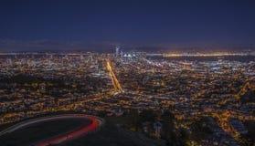 Πόλη του Σαν Φρανσίσκο Στοκ φωτογραφίες με δικαίωμα ελεύθερης χρήσης