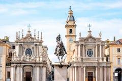 Πόλη του Τορίνου στην Ιταλία στοκ εικόνες