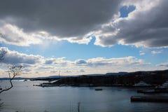 Πόλη του Όσλο Στοκ φωτογραφία με δικαίωμα ελεύθερης χρήσης