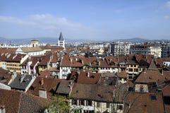 Πόλη του Annecy, στο κραμπολάχανο, Γαλλία Στοκ Εικόνες