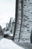 Πόλη του Carcassonne Castle Στοκ εικόνες με δικαίωμα ελεύθερης χρήσης