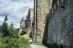Πόλη του Carcassonne Castle Στοκ Εικόνες