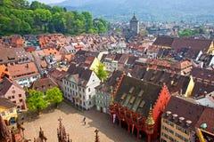 Πόλη του freiburg Im Breisgau, Γερμανία Στοκ εικόνα με δικαίωμα ελεύθερης χρήσης