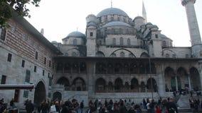 πόλη του /Istanbul/μουσουλμανικό τέμενος/το Δεκέμβριο του 2015 Ισλάμ απόθεμα βίντεο