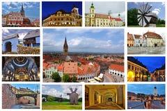 Πόλη του Sibiu Στοκ φωτογραφία με δικαίωμα ελεύθερης χρήσης