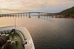 Πόλη του tromso Στοκ φωτογραφία με δικαίωμα ελεύθερης χρήσης