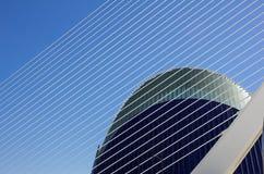 Πόλη των τεχνών και των επιστημών Στοκ Εικόνες
