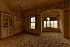 Πόλη-φάντασμα Kolmanskop, Ναμίμπια Στοκ Φωτογραφία