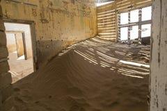 Πόλη-φάντασμα Kolmanskop, Ναμίμπια Στοκ φωτογραφία με δικαίωμα ελεύθερης χρήσης