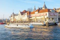 Πόλη φυσική από το Άμστερνταμ στις Κάτω Χώρες Στοκ φωτογραφία με δικαίωμα ελεύθερης χρήσης