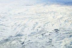 Πόλη χιονιού στοκ εικόνα