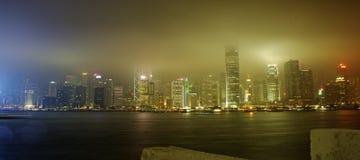 πόλη Χογκ Κογκ Στοκ εικόνες με δικαίωμα ελεύθερης χρήσης