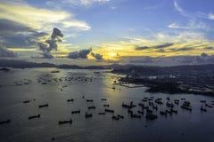 πόλη Χογκ Κογκ Στοκ εικόνα με δικαίωμα ελεύθερης χρήσης