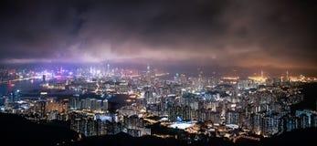 Πόλη Χονγκ Κονγκ Στοκ Φωτογραφίες